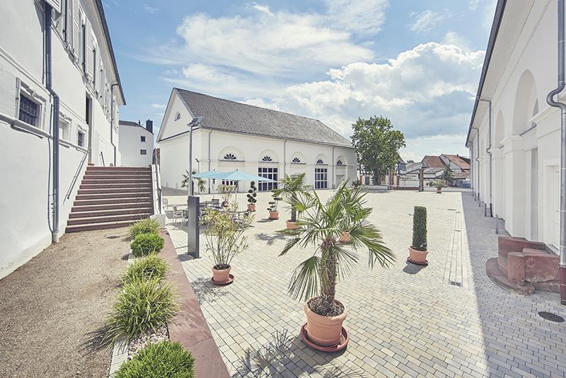 Aussenansicht Schlossparkklinik Dirmstein