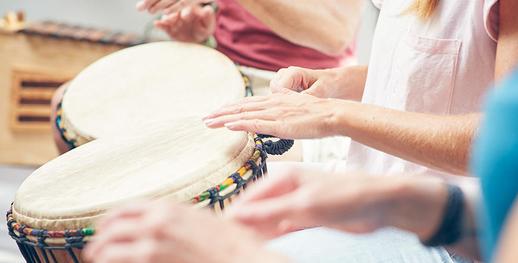 Musiktherapie | Den eigenen Rhythmus finden und behalten.