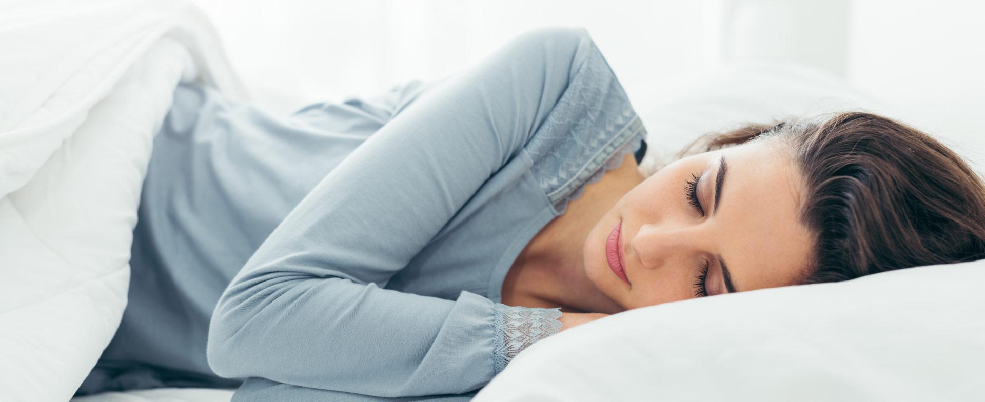guter schlaf foerdert gesundheit